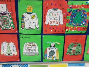 4th class christmas jumpers dec 2017
