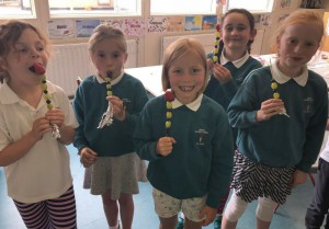 2nd class healthy eating